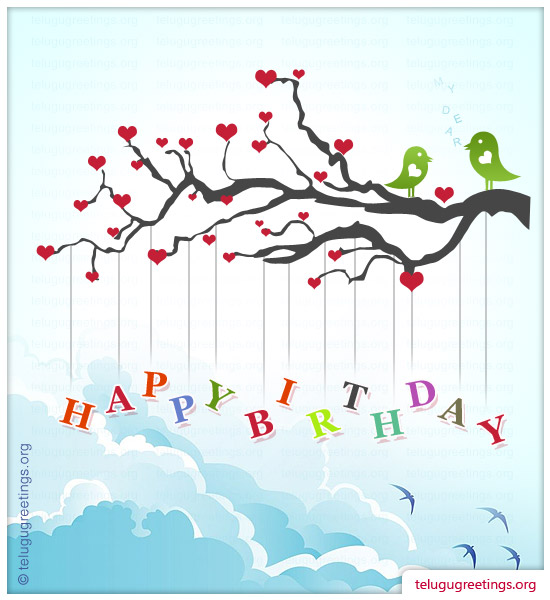 Birthday greetings telugu greeting cards page 1 birthday greeting 10 m4hsunfo
